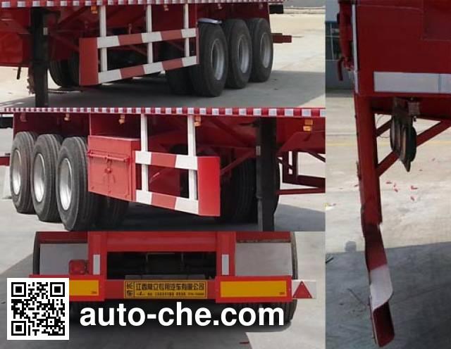 Changlida GCL9401XXY box body van trailer