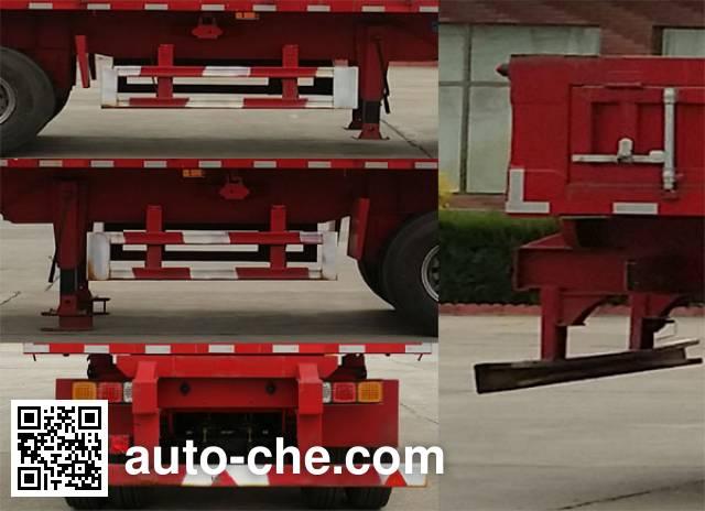 承威牌GCW9400ZZX自卸半挂车