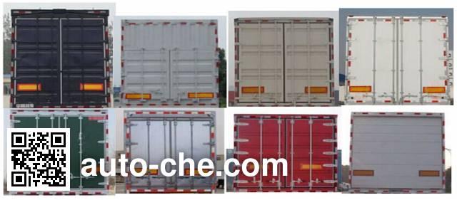 Chengwei GCW9402XXY box body van trailer