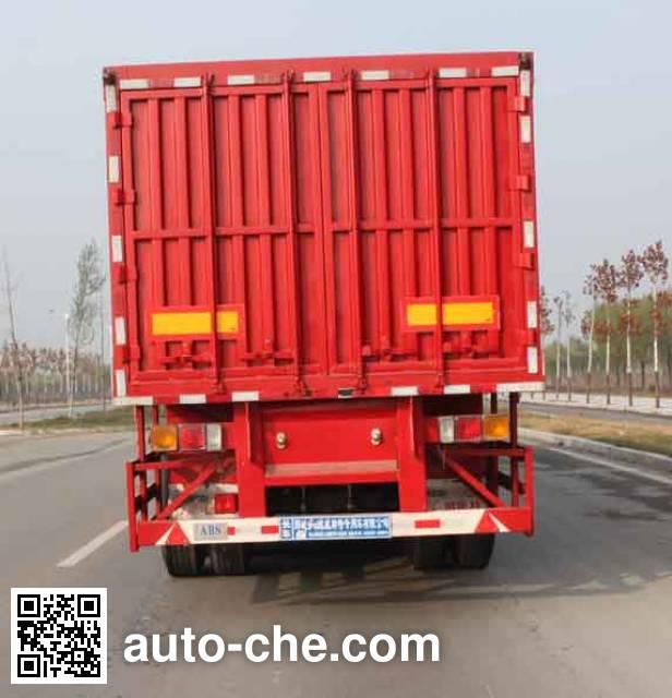 Gudemei GDM9402XXY box body van trailer