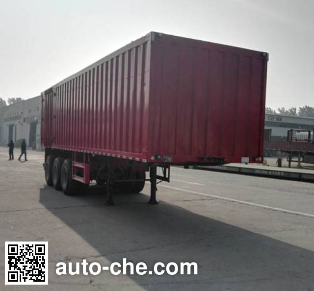 Gudemei GDM9404XXY box body van trailer