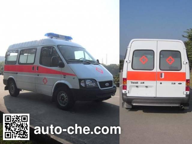 上元牌GDY5037XJHV5救护车