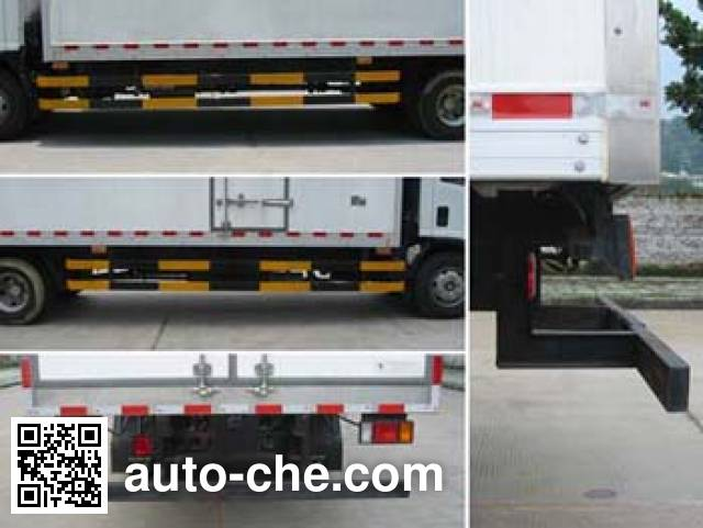 Shangyuan GDY5102XLCQP refrigerated truck
