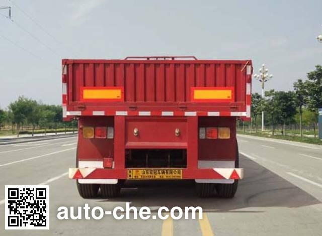 Qilu Hongguan GHG9400 dropside trailer