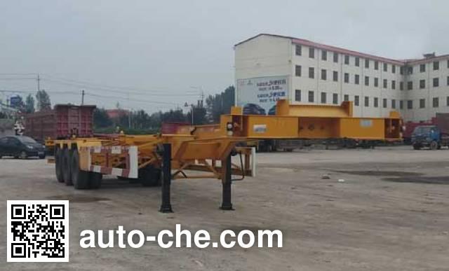 Qilu Hongguan GHG9400TJZE container transport trailer
