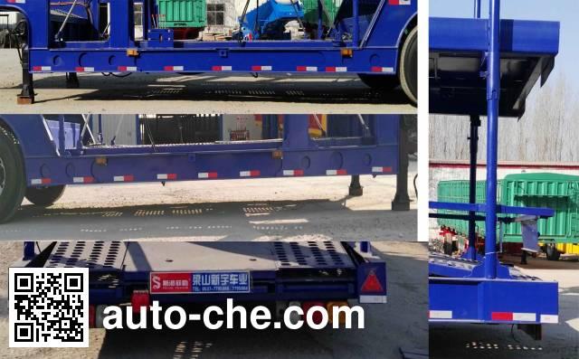 Sipai Feile GJC9201TCL vehicle transport trailer