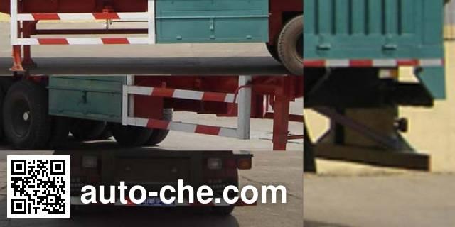 斯派菲勒牌GJC9400XXY厢式运输半挂车