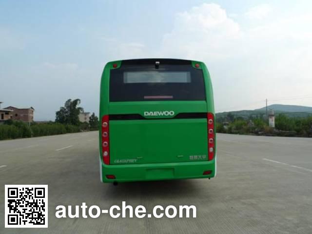 桂林牌GL6121PHEV混合动力城市客车