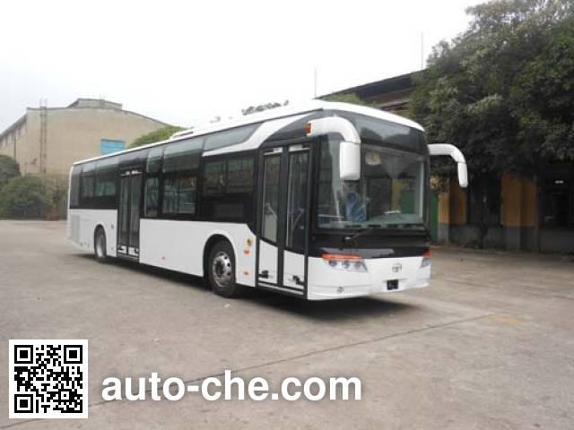 桂林牌GL6122HEVN1混合动力城市客车