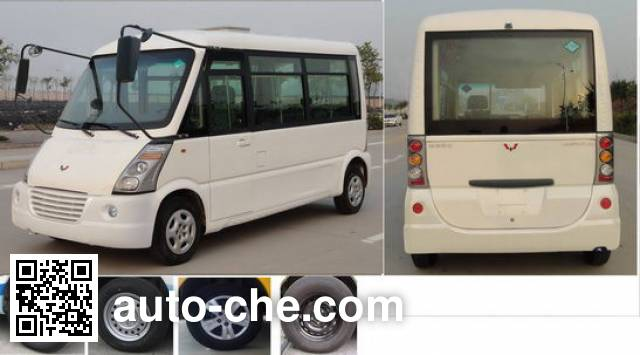五菱牌GL6508NGQ城市客车