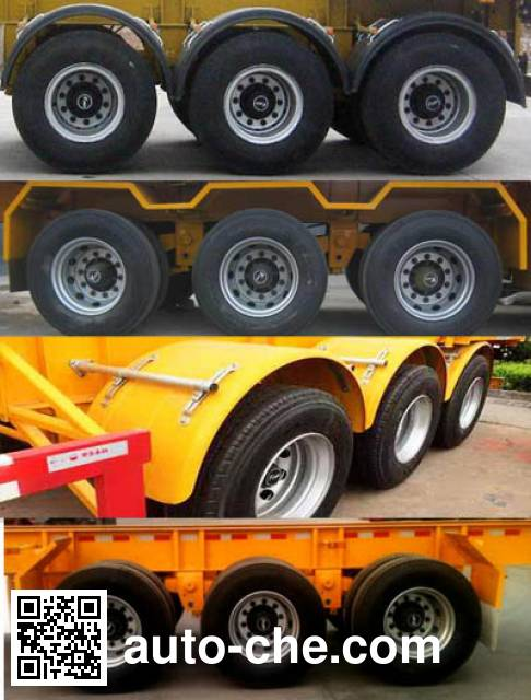 Jiangjun GLJ9402TJZ container transport trailer
