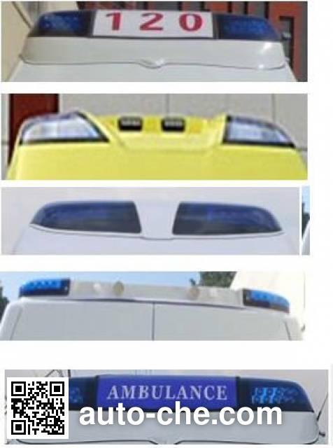 广通客车牌GPY5030XJHSHTD1救护车