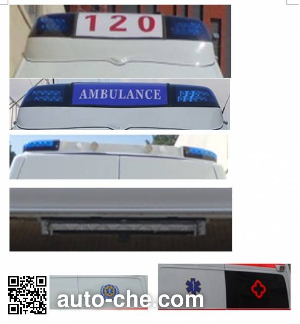 Granton GPY5041XJHSHTJ0 ambulance