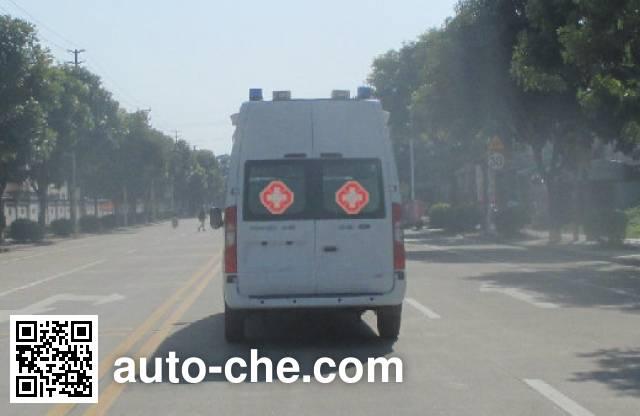 广通客车牌GPY5041XJHSHTJ0救护车