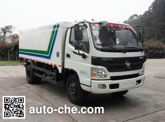 Guanghe GR5060XTY sealed garbage container truck