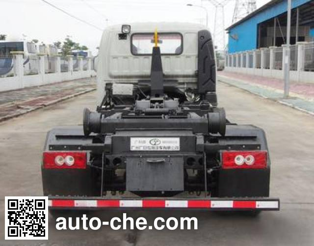 Guanghe GR5062ZXX detachable body garbage truck