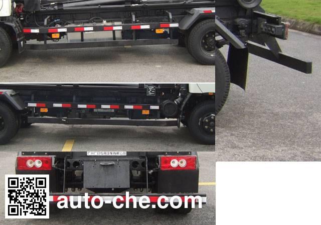 广和牌GR5081ZXX车厢可卸式垃圾车