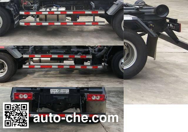 广和牌GR5082ZXX车厢可卸式垃圾车