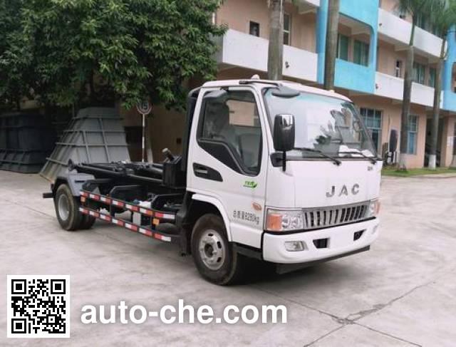 广和牌GR5083ZXXE5车厢可卸式垃圾车