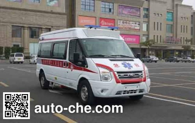 广通牌GTQ5036XJH救护车