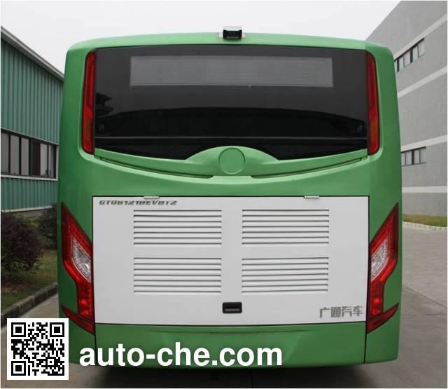 广通牌GTQ6121BEVB5纯电动城市客车