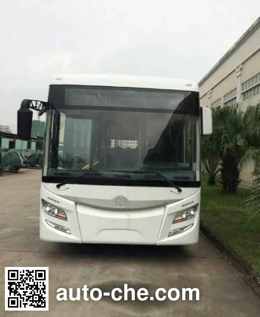 广通牌GTQ6181BVEBT3纯电动铰接城市客车
