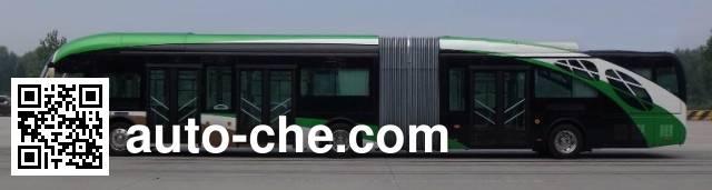 广通牌GTQ6186BEVBT3纯电动铰接城市客车