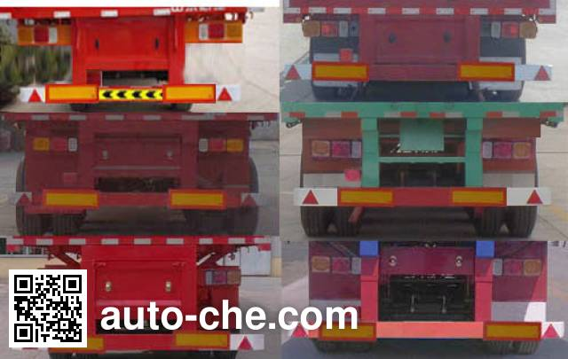 万和德通牌GTW9400E半挂车