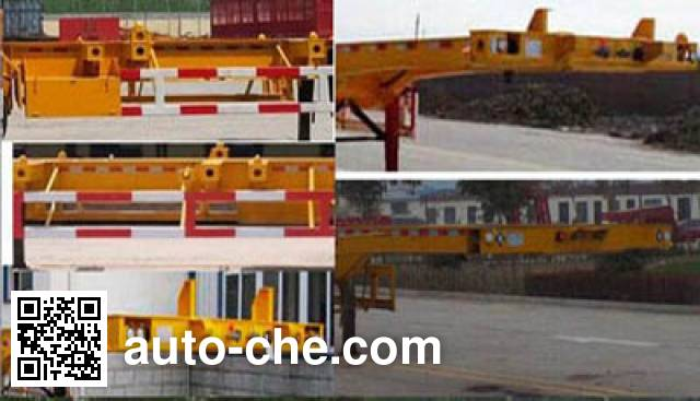 Wanhe Detong GTW9400TJZ container transport trailer
