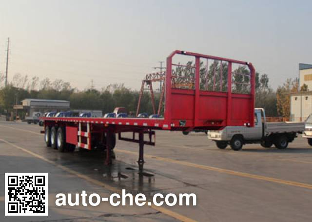 Wanhe Detong GTW9401TPB flatbed trailer