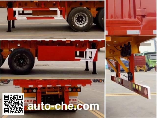 Wanhe Detong GTW9402CCY stake trailer