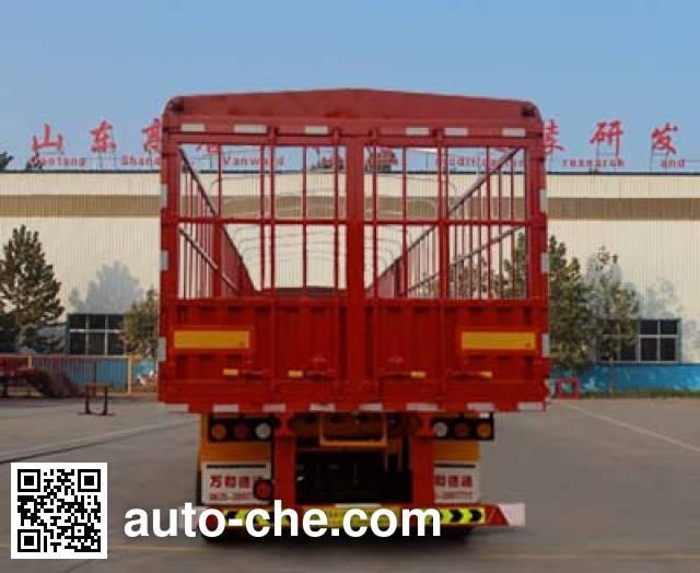 Wanhe Detong GTW9403CCY stake trailer