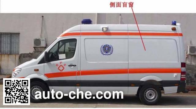 Jinhui GTZ5040XJH ambulance
