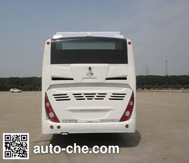 广汽牌GZ6103PHEV2混合动力城市客车