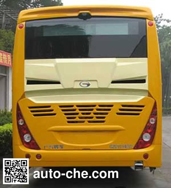 广汽牌GZ6112HEV2混合动力城市客车