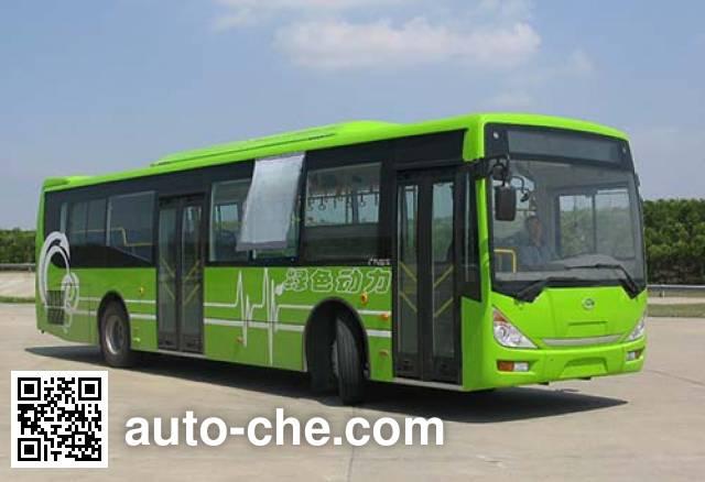 广汽牌GZ6111HEV1混合动力城市客车