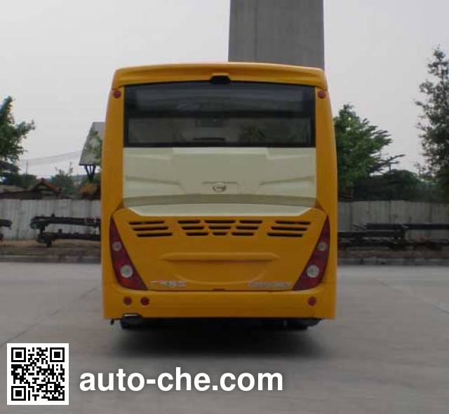 广汽牌GZ6112HEV混合动力城市客车