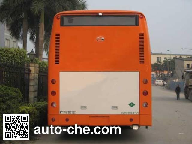 广汽牌GZ6113HEV2混合动力城市客车