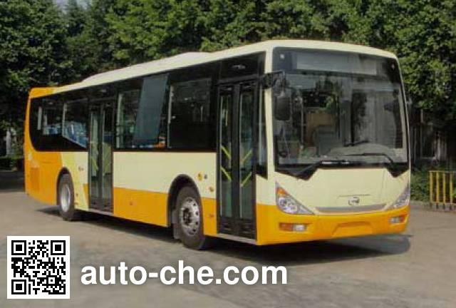 广汽牌GZ6113HEV4混合动力城市客车