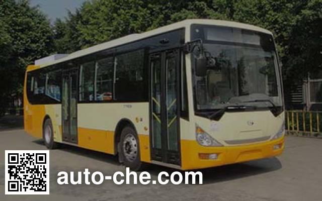 广汽牌GZ6113PHEV2混合动力城市客车