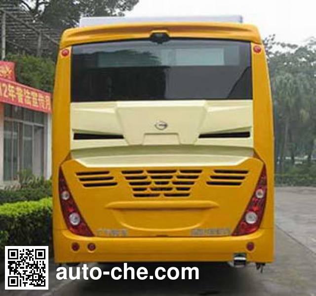 广汽牌GZ6113HEV5混合动力城市客车