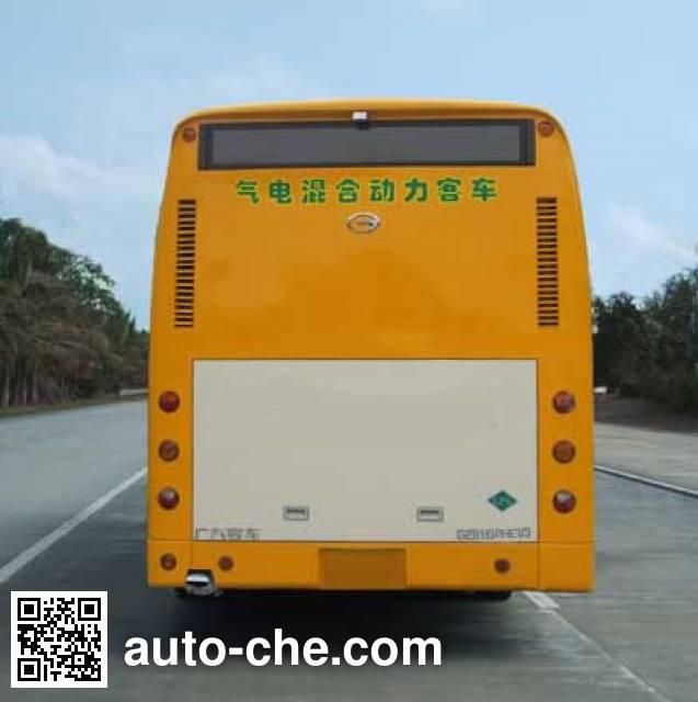 广汽牌GZ6113PHEV3混合动力城市客车