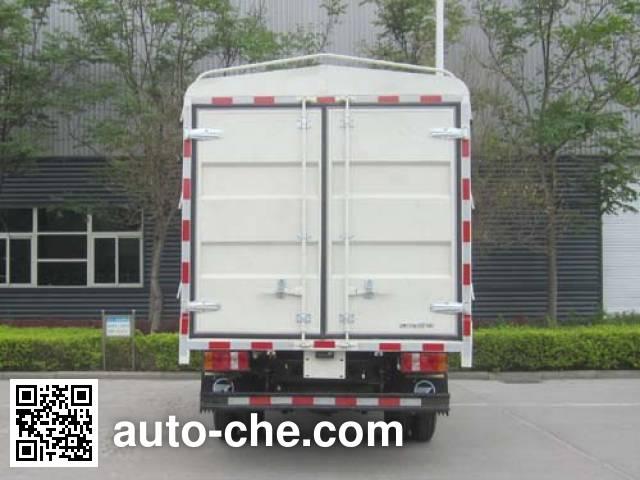 环球牌GZQ5040CCYBEV纯电动仓栅式运输车