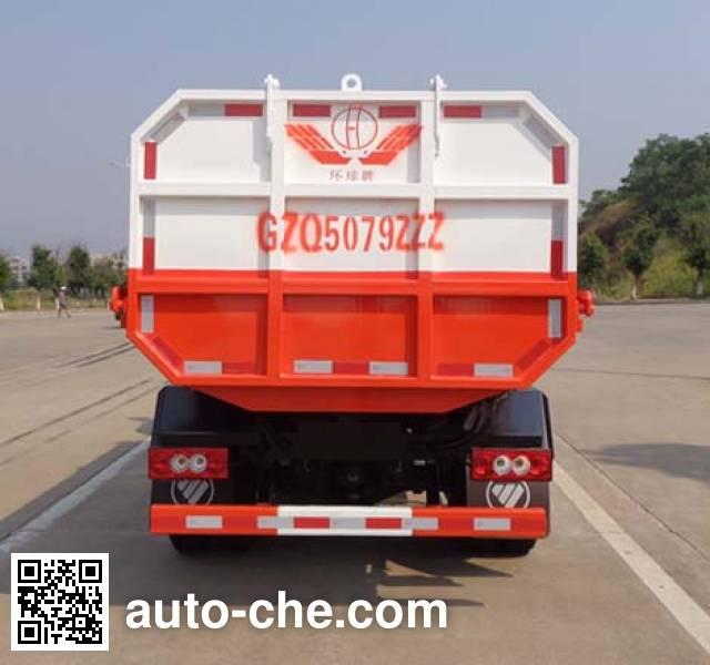 Huanqiu GZQ5079ZZZ self-loading garbage truck