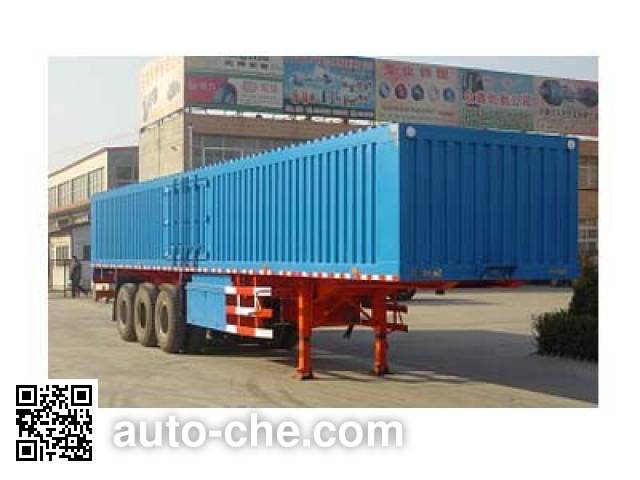 Chuanteng HBS9280XXY box body van trailer