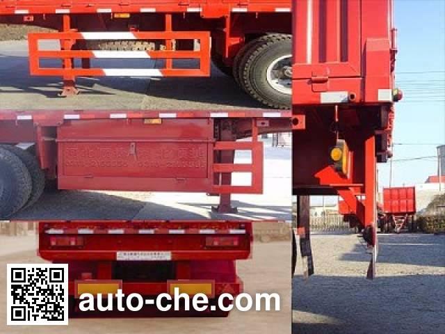 Chuanteng HBS9300XXY box body van trailer