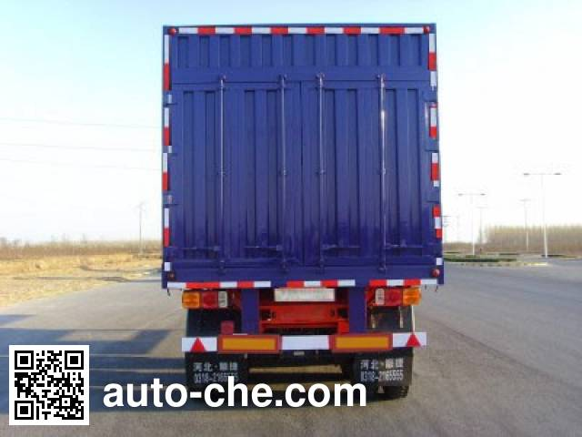 Chuanteng HBS9406XXY box body van trailer
