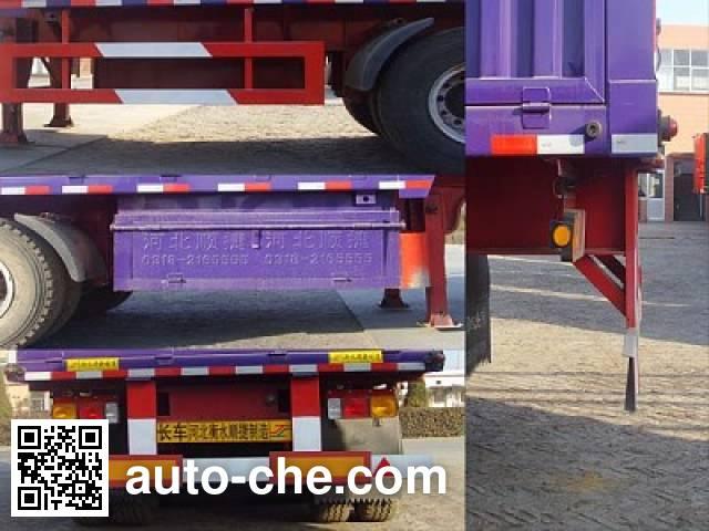 Chuanteng HBS9340XXY box body van trailer