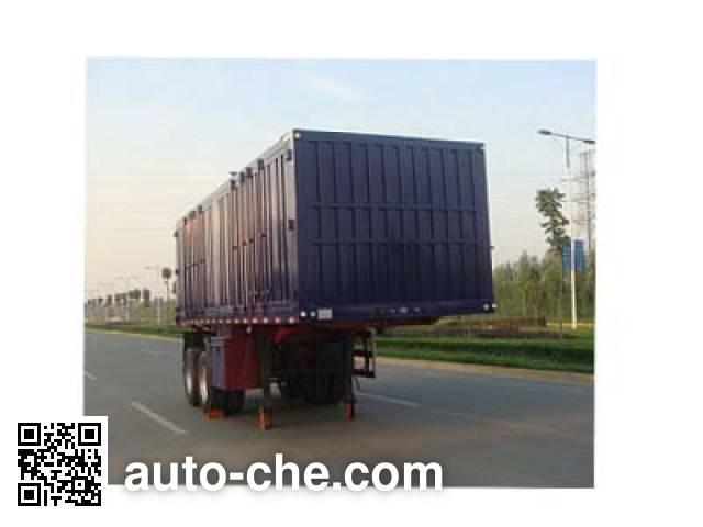 Chuanteng HBS9351XXY box body van trailer