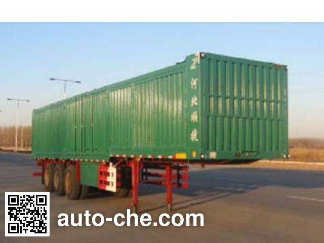 Chuanteng HBS9395XXY box body van trailer